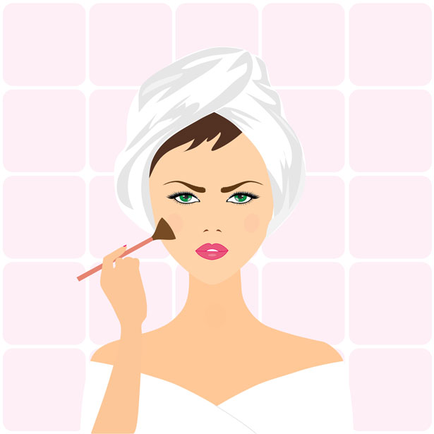 woman-applying-make-up